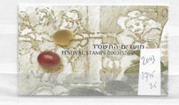 2003 MNH Israel Booklet Mi 1745-47 - Markenheftchen