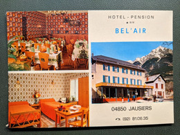 HOTEL RESTAURANT PENSION BEL'AIR  SALLE DE RESTAURANT MOBILIER CHAMBRE RENALT R5 R6 - Hotels & Gaststätten