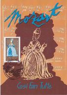 France Carte Maximum 2006 Personnage Opéra De Mozart 3919 Don Giovanni - 2000-09