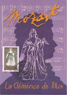 France Carte Maximum 2006 Personnage Opéra De Mozart 3921 La Clémence De Titus - 2000-09