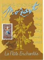 France Carte Maximum 2006 Personnage Opéra De Mozart 3922 La Flûte Enchantée - 2000-09
