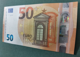 50 EURO ESPAÑA 2017 LAGARDE V021F1 VC UNCIRCULATED PERFECT - 50 Euro