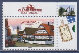 Hunspach, Bas Rhin, Le Village Préféré Des Français 2021, Coin  Haut De Feuillet Droit - Nuovi
