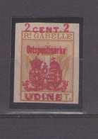 Austria Hungary 1918. UDINE 2c - Austrian Occupation
