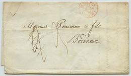 TàD OUTREMER - BORDEAUX / LàC 1839 De Lima (Pérou) Pour Bordeaux. Peru. - 1801-1848: Precursors XIX