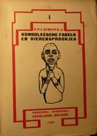 Kongoleesche Fabels + Rijnardijen + Geestesverhalen - 3 Delen - Door IK Struyf - Kongo Congo Zaïre - Non Classés