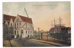 Germany Emden Leigraf's Schifferhaus Cassen's Helling Stamp 1923 - Emden