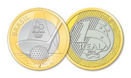 Brasil Brazil 2014 Rio De Janeiro Olympics 2016 - Golf UNC - Brazil