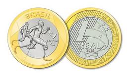 Brasil Brazil 2014 Rio De Janeiro Olympics 2016 - Paralympic Athlectics UNC - Brazil