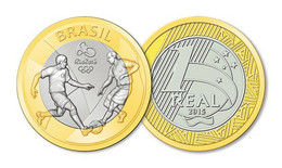Brasil Brazil 2015 Rio De Janeiro Olympics 2016 - Football UNC - Brazil