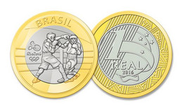 Brasil Brazil 2016 Rio De Janeiro Olympics 2016 - Boxe UNC - Brazil