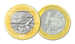 Brasil Brazil 2016 Rio De Janeiro Olympics 2016 - Paralympic Swimming UNC - Brazil