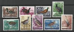 Jugoslawien JUGOSLAVIJA 1958 Michel 842 - 850 O Birds Vögel - Ohne Zuordnung