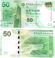 Hong Kong 50 Dollars 2010 UNC Bank Of China - Hong Kong