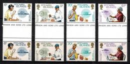 Pitcairn Islands 1983 Commonwealth Day Set As Gutter Pairs MNH - Pitcairneilanden