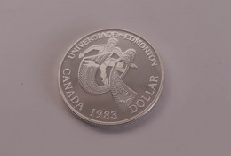 1 Dollar 1983 - Elizabeth II World University Games ( Edmonton) - Canada