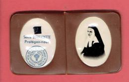 RELIQUE RELIQUAIRE SAINTE BERNADETTE SOUBIROUS 1844 LOURDES 1879 NEVERS - Godsdienst & Esoterisme