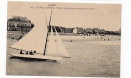 44 - LE POULIGUEN - Yacht De Plaisance Sortant Du Port  - Animée(I82) - Le Pouliguen