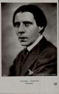 CARTE PHOTO AVEC ALFRED CORTOT...PIANISTE - Music And Musicians