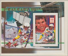 Guinea 1988 Calgary Olympic Games - Souvenir Sheet   MNH/** (H70) - Inverno1988: Calgary