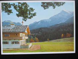 Postkarte Propaganda Landhaus Goering Obersalzberg - Brieven En Documenten
