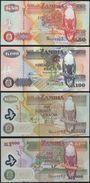 Zambia SET - 50 100 500 1000 Kwacha 2006 2009 - UNC - Zambia