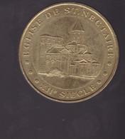 Jeton Médaille MDP Monnaie De Paris  Eglise De Saint Nectaire 2012 - 2012