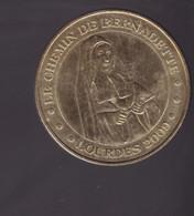 Jeton Médaille MDP Monnaie De Paris  Le Chemin De Bernadette Lourdes 2009 - 2009