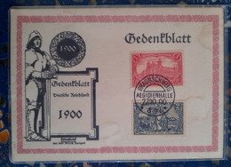 Braunschweig ( Le 27 10 1900) Allemagne - Lettres & Documents