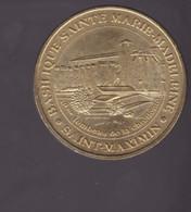 Jeton Médaille MDP Monnaie De Paris  Basilique Sainte Marie Madeleine Saint Maximin 2008 - 2008