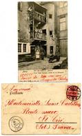 METZ - Cour Dans L'ancien Hôtel De La Monnaie - Voir Scan RV - Metz