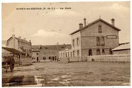 VITRY En ARTOIS - La Gare - Voir Scan - Vitry En Artois