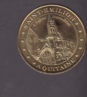 Jeton Médaille MDP Monnaie De Paris  Saint Emilion Aquitaine 2007 - 2007