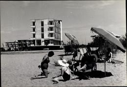 CPA Bibione San Michele Al Tagliamento Veneto, Hotel Bellevue, Strandpartie - Altri