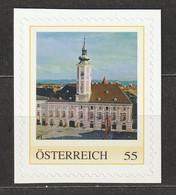 Österreich Personalisierte BM Wahrzeichen Rathaus St. Pölten ** Postfrisch Selbstklebend - Private Stamps