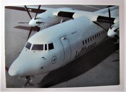 TRANSPORTS - AVIATION - Lufthansa - Fokker 50 - 1946-....: Era Moderna