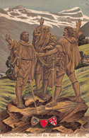 Rutlischwur Serment Du Grütli - Gaufrée - 1910 The Rutli Oarn - UR Uri