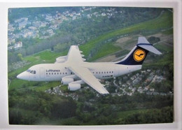 TRANSPORTS - AVIATION - Lufthansa - Cityliner Avro RJ85 - 1946-....: Era Moderna
