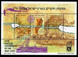 1987Israel1077-1079/B35Exploration Of Jordan River & Dead Sea6,00 € - Ungebraucht (mit Tabs)