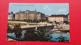 Graz.Radetzybrucke Mit Justiz-Palais.Klemencic Autographs? - Graz