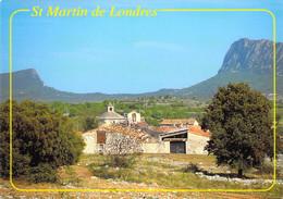 34 - Saint Martin De Londres - Vue Du Village - Avec En Fond, Le Pic Saint Loup Et Le Pic Hortus - Altri Comuni