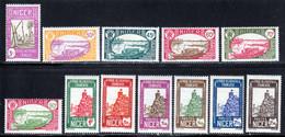 Niger 1939 Yvert 74 / 85 ** TB - Unused Stamps