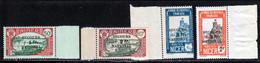 Niger 1941 Yvert 89 / 92 ** TB Bord De Feuille - Unused Stamps