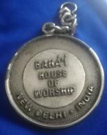 India , New Delhi , Rare Medl If The Bahá'í House Of Worship  , Darfa, - Other