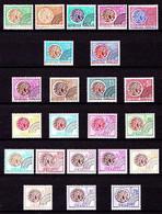 Préos.  123 à 145 - Les 4 Séries Monnaie Gauloise - Complet 23 Valeurs - Neufs N** - Très Beaux. - 1964-1988
