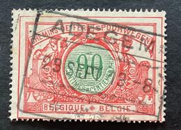 TR40 Gestempeld ADEGEM - 1895-1913