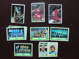 Lot De 8 Vignettes + 3 Doubles PANINI EuroFootball Euro Football 78 1978 Autocollant Sticker Figurine Image Vignette - Other