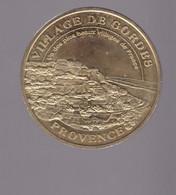 Jeton Médaille MDP Monnaie De Paris  Village De Gordes  Provence 2008 - 2008