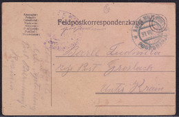 Podromanja, 1916, Postcard, Sent By Military Mail (stampless), Tear In Lower Part - Bosnia And Herzegovina