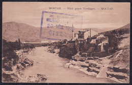 Čitluk, 1912, Auxiliary Post Office Cancellation (Postablage) On Picture Postcard, Stamp Removed - Bosnia And Herzegovina